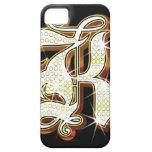 Bling alphabet K iPhone SE/5/5s Case