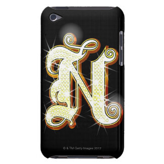 Bling alphabet N iPod Touch Case