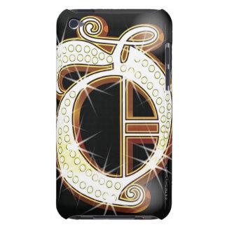 Bling alphabet O iPod Case-Mate Case