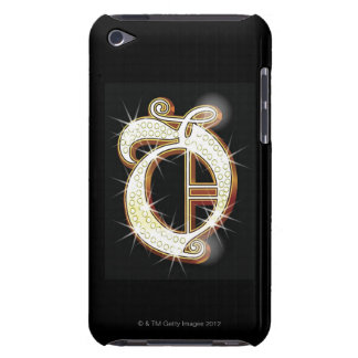 Bling alphabet O iPod Touch Case