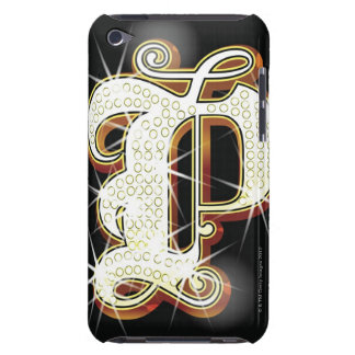 Bling alphabet P iPod Touch Cover