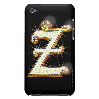 Bling alphabet Z Barely There iPod Case
