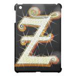 Bling alphabet Z iPad Mini Covers