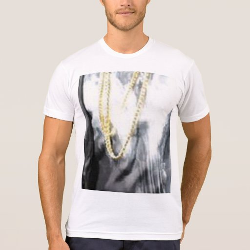 Bling American Apparel Poly Cotton Blend T Shirt Zazzle