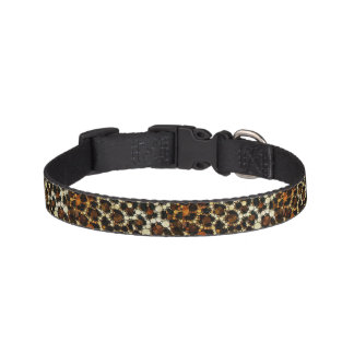 Bling Animal Print  Pattern Pet Collars