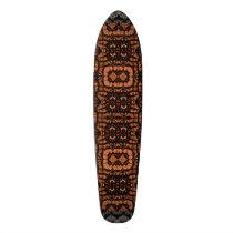 Bling Animal Print Skateboard Deck