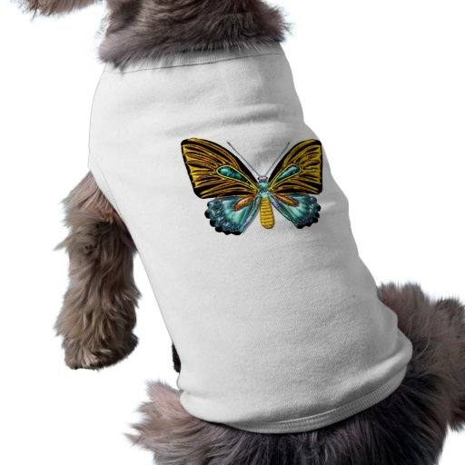 Bling Bling Butterfly Pet Clothing