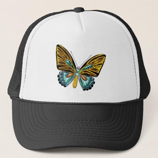 Bling Bling Butterfly Trucker Hat