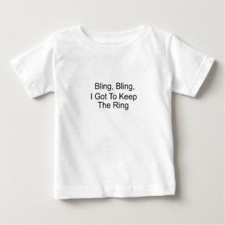 Bling, Bling, conseguí guardar el anillo Playera De Bebé