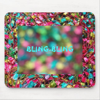 """""""BLING-BLING"""" Deco Mouse Pad Mouse Pad"""