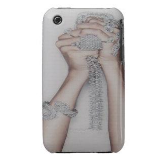 Bling Bling Diamonds Blackberry Curve Case-Mate Ca iPhone 3 Case