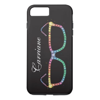 """Bling Bling - Glasses Jewel """"Images"""" iPhone 7 Case"""