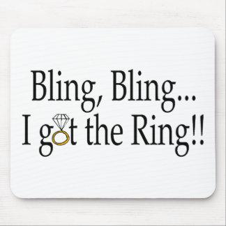 Bling Bling I Got The Ring Mouse Pad