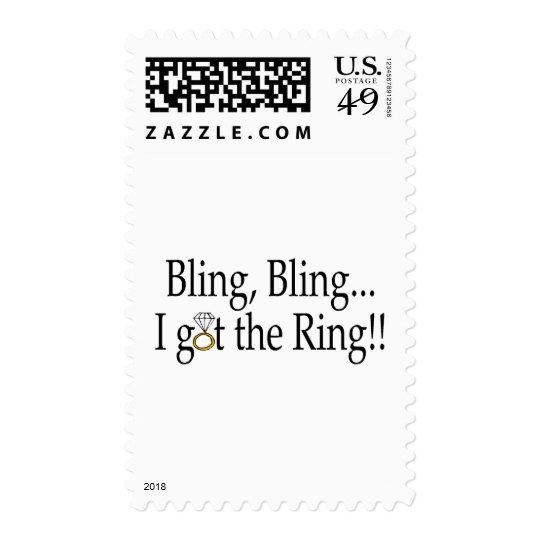 Bling Bling I Got The Ring Postage