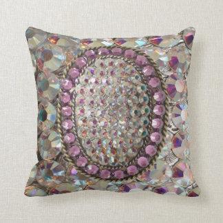 BLING BLING Iridescent Rhinestone Pillow