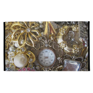 bling bling jewelry collection iPad case