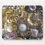 bling bling jewelry collection mouse pads
