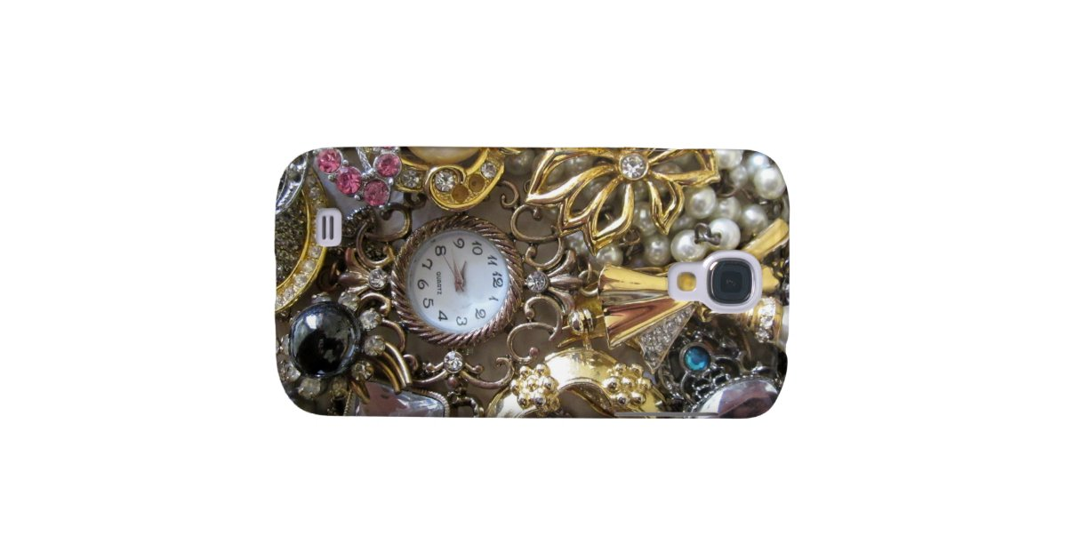 bling bling jewelry collection samsung galaxy s4 zazzle