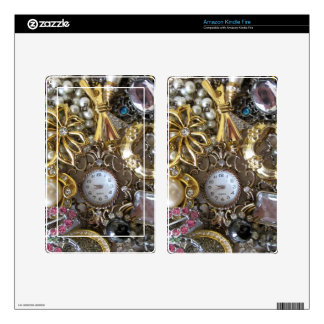 bling bling jewelry collection skin for kindle fire