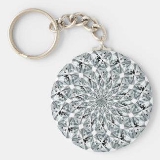 Bling-bling pattern keychain