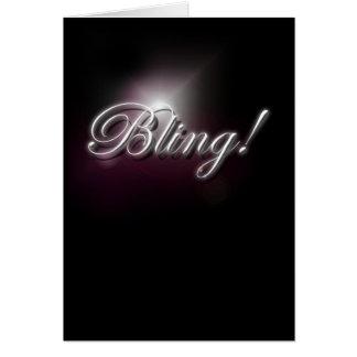 Bling! Card
