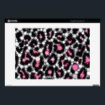"Bling Cheetah Print Decal For Laptop<br><div class=""desc"">Soft colors</div>"