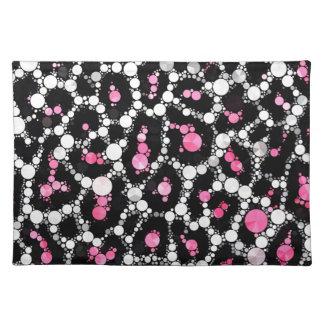 Bling Cheetah Print placemat