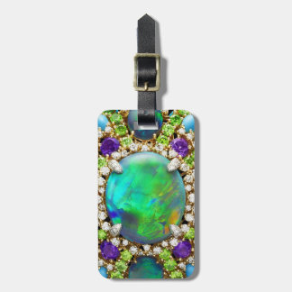 Bling Costume Jewelry Luggage Tag