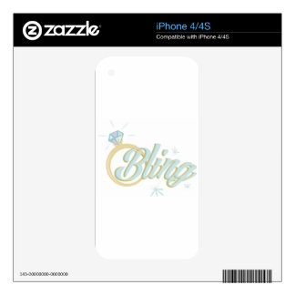 Bling Decals For iPhone 4