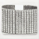 Bling diamonds cuff bracelet jewelry mousepad