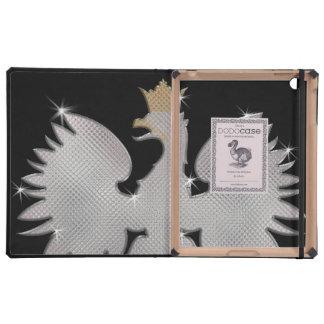 Bling Eagle polaco DODOcase para el iPad 2 3 iPad Coberturas