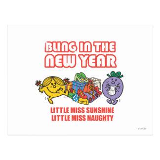 Bling en el Año Nuevo Postales
