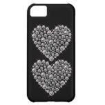 Bling Faux Rhinestone Heart IPhone 5 Case