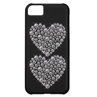 Bling Faux Rhinestone Heart IPhone 5 Case
