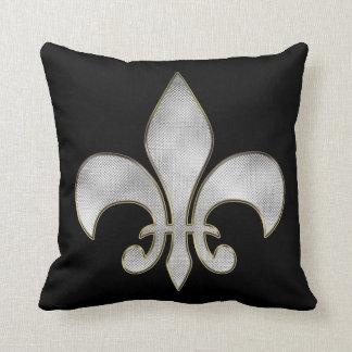 """Bling Fleur De Lis American MoJo  Pillow 20"""" x 20"""""""