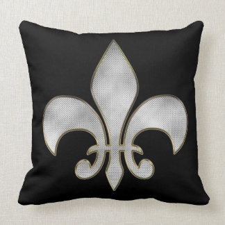 Bling Fleur De Lis Throw Pillows