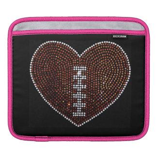 Bling Football iPad Sleeve