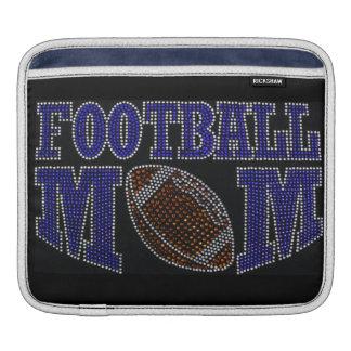 Bling Football Mom iPad Sleeve