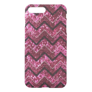 Bling Glam Girly Glitter Sparkle Chevron iPhone 8 Plus/7 Plus Case