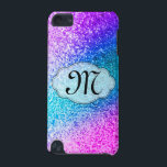 "Bling Glitter Girly Monogram Initial IPOD Touch iPod Touch (5th Generation) Case<br><div class=""desc"">Bling Glitter Girly Pink Purple Teal Aqua Blue Glitz Glamour Monogram Initial IPOD Touch 5G Case Personalized</div>"