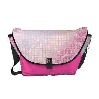 Bling Glitter Girly Pink Glitz Glam Bag Tote Purse Messenger Bag