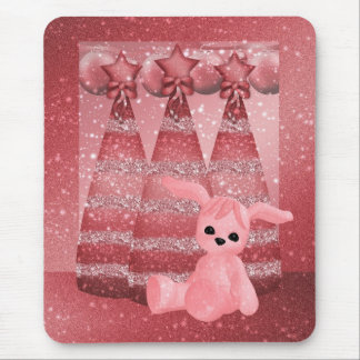 Bling Glitter Tinsel effect Holiday Mouspad Mouse Pad