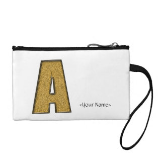 Bling Gold A Change Purses