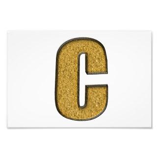 Bling Gold C Photo