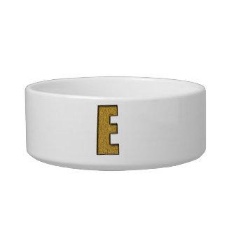 Bling Gold E Cat Bowl