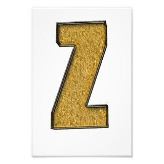 Bling Gold Z Photo
