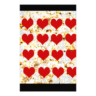 BLING HEARTS STATIONERY