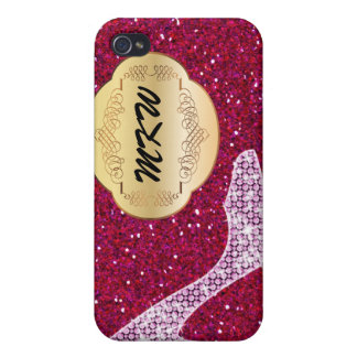 Bling - If the Shoe Fits - SRF iPhone 4/4S Cover