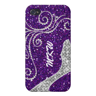 Bling - If the Shoe Fits - SRF Cases For iPhone 4