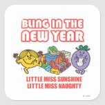 Bling in the New Year Square Sticker
